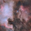 North America Nebula & Pelican Nebula(Starless),                                jhuan