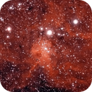 IC417 Spider Nebula (Bicolor Narrowband Ha+OIII),                                Marco Stra