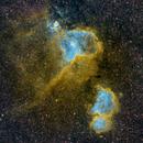 Heart and Soul Nebulae,                                wjf56
