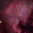 NGC7000 - DSLR,                                Thomas Richter