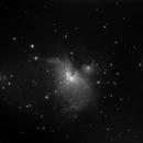 M42 - 10 minutes - StarTravel 80 and Meade 2045D,                                altazastro