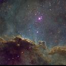 NGC 6188 and NGC 6193 in Ara,                                Dhaval Brahmbhatt