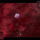 Crescent and Soap Bubble Nebulae - HOO 2018,                                Nicolas Kizilian