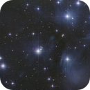 The Pleiades - during Soccer match - high light pollution,                                Thomas Richter
