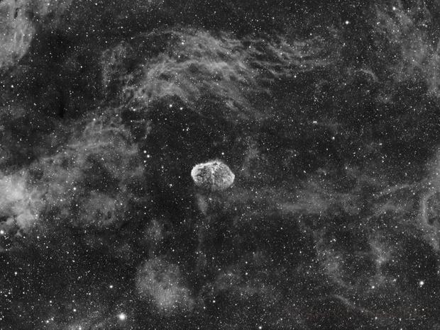 NGC6888 test Astrodon 3nm,                                LAMAGAT Frederic