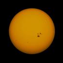 Sun with AR2192,                                astromatthias