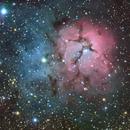 The Trifid Nebula (M20),                                dnault42