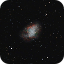 M1 - The Crab Nebula,                                mikebrous
