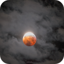 Optical illusion eclipse with cloud (One shot, no false assembly),                                Maxime Tessier