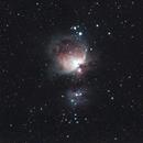 Orion Nebula with Canon 200mm fix lens,                                KiwiAstro
