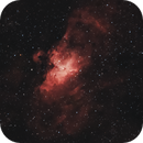 M16 & M17 | Eagle and Swan Nebulae Test,                                Tom Hitchen