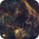 Sharpless 237 & 234 - The Spider and the Fly Wide Field,                                Timothy Martin & Nic Patridge