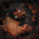 North America and Pelican nebulae,                                Kamil Pękala