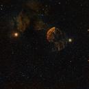 IC443 SHO widefield,                                Janos Barabas