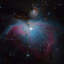Orion Nebula (first attempt),                                matbg