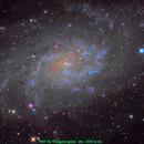 M33 The Triangulum galaxy,                                Aaron G
