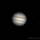 R-RGB Jupiter and Io April 7th,                                Stephen Jennette