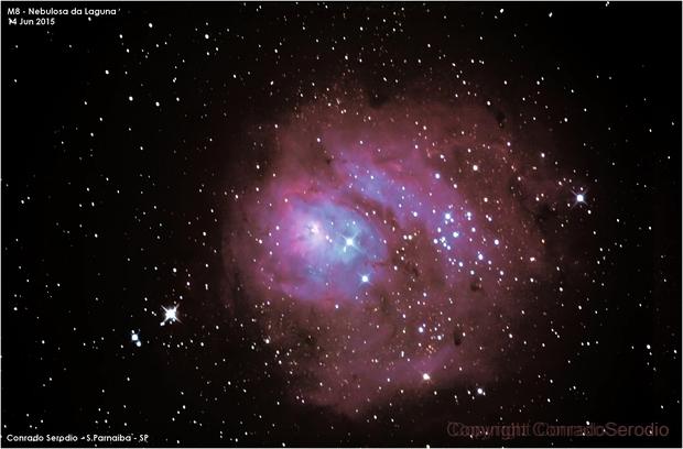 A very modest Laguna nebula,                                Conrado Serodio