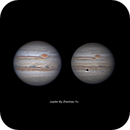 Jupiter on August 5th and Sep 27, 2020 UTC,                                ZYU1917