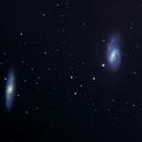 Galaxies M65 & M66,                                Seymore Stars