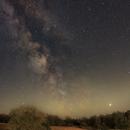 Summer Milky Way over Lake Kulk,                                Marcel Nowaczyk