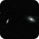 NGC 3031 (M081) y NGC 3034 (M082),                                Ramón Delgado Fernández