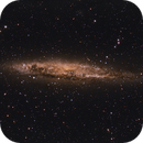 NGC 4945 and song,                                Jeff