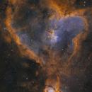 Heart Nebula,                                Dennis Sprinkle