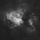 M17 - Omega Nebula in H-alpha,                                Orestis Pavlou