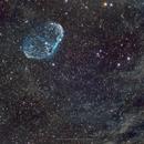 Crescent Nebula (NGC 6888),                                Jenke ter Horst