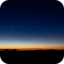 Widefield of C/2020 F3 Neowise, Venus and Pleiades,                                John Hosen