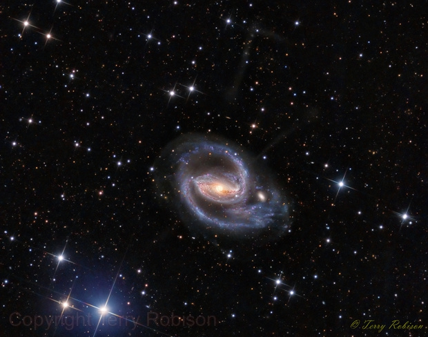 NGC 1097 - Optical Jets,                                Terry Robison