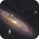 Andromeda Galaxy,                                Chris R White