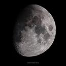 Waxing Gibbous Moon - HDR,                                Nisan Oguz