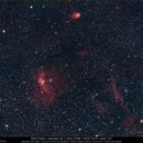 NGC 7635 + M 52,                                Gérard Nonnez