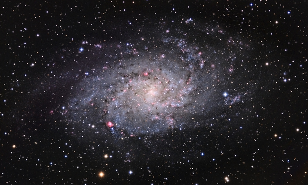 M33 LRGB With a Little HA,                                Astrovetteman