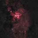 Eta Carina and Southern Sky,                                Peter64