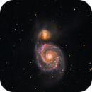M51 enhanced with Hydrogen,                                Andreas Dietz