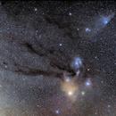 Die Antares-Region im Skorpion,                                firstLight