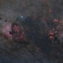 North America nebula & Sadr area in Cygnus,                                Bart Delsaert