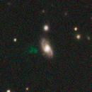 IC 2497 and Hanny's Voorwerp,                                Albert van Duin