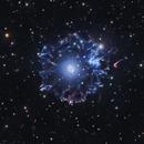 NGC6543 - Cat's eye nebula in Short Exposures,                                Filippo Scopelliti