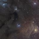 Rho Ophiuchi Cloud Complex,                                Astro Jim