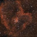 IC 1805 HALPHA +RGB  canon,                                Riccardo Crescimbeni