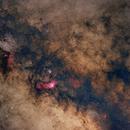 A fragment of the Sagittarius constellation 11/05/2021,                                Łukasz Żak