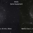 M101 Comparison,                                Michael Thurston