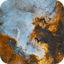 NA nebula close up,                                JORGE RICARDO
