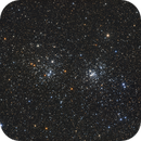 NGC 869 and 884 - Double Cluster in Perseus,                                Monkeybird747