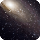Andromeda Galaxy - M31 (Crop & Tilt-shift effect),                                Christophe VOUTSINAS