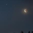 Saturn, an hide Pluto, Jupiter, Mars and the moon,                                Davide De Col